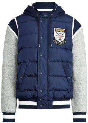 Polo Ralph Lauren Down-Paneled Baseball Jacket