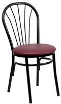 Flash Furniture FlashFurniture Hercules Series Fan Back Metal Chair
