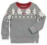 Burt's Bees Baby® Fair Isle Thermal Shirt in Grey