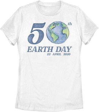 Juniors' 50th Earth Day 22 April 2020 Tee