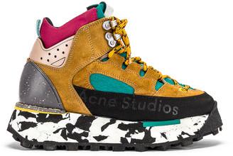 Acne Studios Bertrand Sneakers in Multi Brown | FWRD