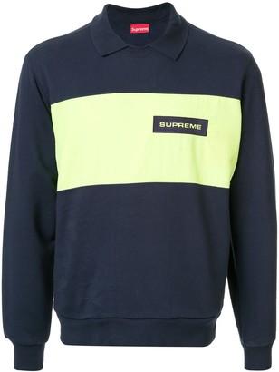 Supreme Polo Crew Neck Sweatshirt
