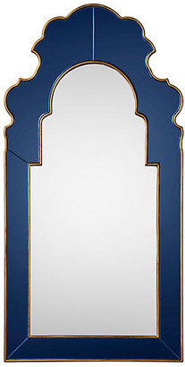 Bunny Williams Home Speckle Oversize Wall Mirror - Sapphire/Gold