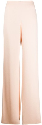 Emporio Armani Plain Flared Trousers