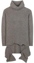 Balenciaga Wool-blend turtleneck sweater
