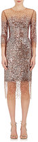 Monique Lhuillier Women's Dégradé Sequin Sheath Dress