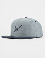 HUF Script Denim Mens Snapback Hat
