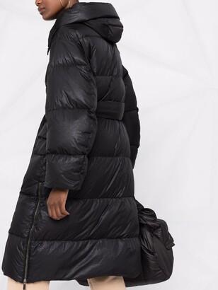 Moorer Hooded Padded Down Coat