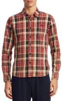 Kent & Curwen Plaid Cotton Button-Down Shirt