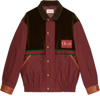 Gucci Panelled Striped Jacket