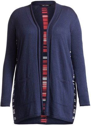 Nic+Zoe, Plus Size Back At It Open Front Cardigan Sweater