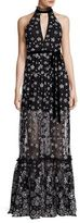 Alexis Florence Embellished Floral Gown