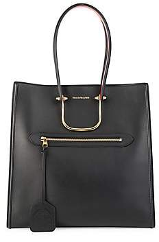 Alexander McQueen Women's Large The Tall Story Leather Tote