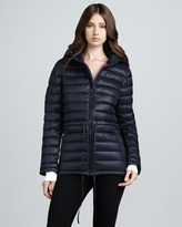 DKNY Quilted Puffer Coat