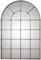 Asstd National Brand Barwell Arch Silver Metal Plated Mirror