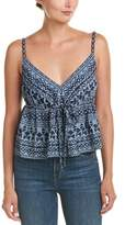 BCBGMAXAZRIA Embroidered Tank.
