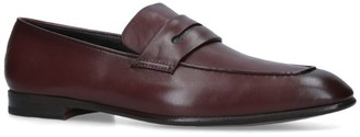 Ermenegildo Zegna Leather Asola Penny Loafers