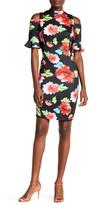 XOXO Off-the-Shoulder Floral Dress