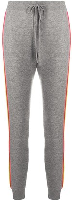 Chinti and Parker Ripple knitted track pants