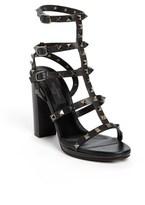 Valentino 'Noir Rockstud' Sandal