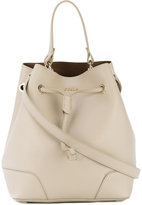 Furla Stacy drawstring tote - women - Calf Leather - One Size