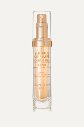 Hampton Sun Bronze Shimmer Cooling Spray, 30ml - Colorless