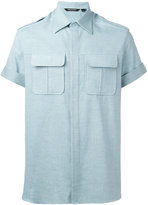 Neil Barrett short sleeve shirt - men - Cotton - 41
