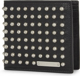 Alexander McQueen Leather studded wallet