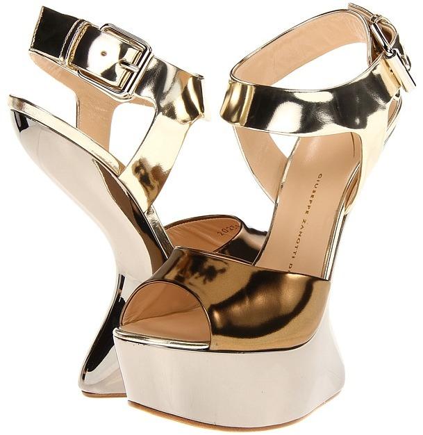 Giuseppe Zanotti I20239 (Bronze) - Footwear