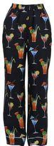 Dolce & Gabbana Printed Silk Pajama Pants