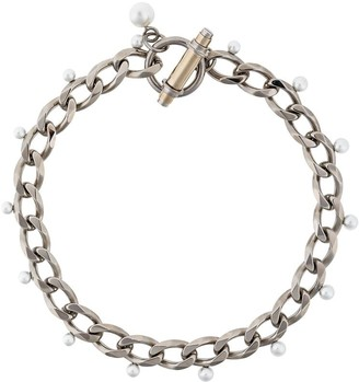 Givenchy Obsedia faux pearl necklace