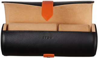Stow Sanderson Leather Watch Roll