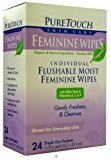 Pure Touch Feminine Wipes 24 ct by PureTouch
