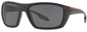 Prada Linea Rossa Men's Polarized Sunglasses, Ps 06SS