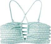 RVCA Women's Harmonic Stripe Bandeau Bikini Top