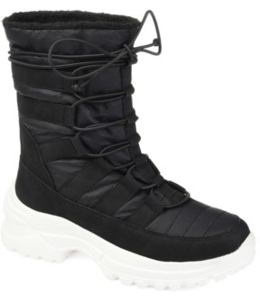 Journee Collection Women's Icey Fashion Winter Boot Women's Shoes