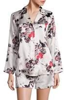 Saks Fifth Avenue COLLECTION Silk Pajama Set