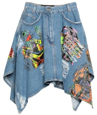 Jeremy Scott Denim skirt