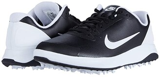Nike Golf Infinity G (Black/White) Men's Golf Shoes