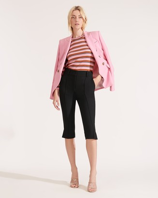 Veronica Beard Ward Pedal-Pusher Pant