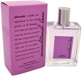 philosophy Unconditional Love By Edt Spray 4 Oz