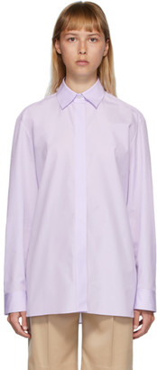 The Row Purple Big Sisea Shirt