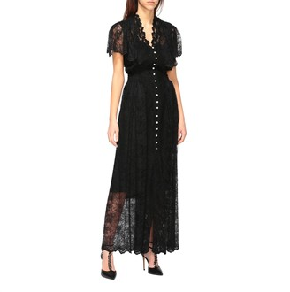 Paco Rabanne Long Lace Dress