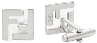 Fendi FF square cufflinks