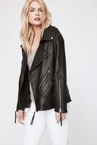 Rebecca Minkoff Best Seller Brutus Jacket - Black M Size