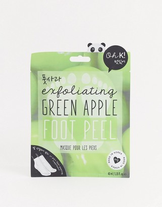 Oh K! Exfoliating Green Apple Foot Peel
