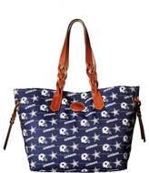 Dooney & Bourke NFL Nylon Shopper Tote Handbags