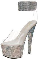 Pleaser USA Women's Bejeweled-712 Platform Sandal