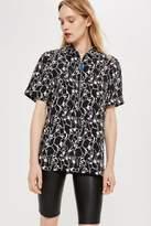 Boutique **zip utility shirt