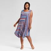 John Paul Richard JohnPaulRichard Women's Plus Size Print Mixed Dress